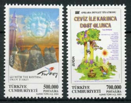 Turkije, michel 3333/34, xx