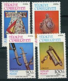 Turkije, michel 2669/72, xx