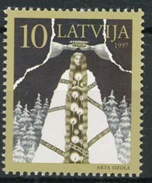 Letland, michel 450, xx
