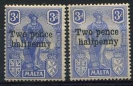 Malta, michel 97 a/b, x
