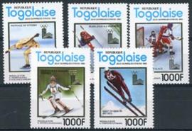 Togo, michel 1508/12, xx