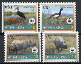 Nepal, michel 718/21, xx
