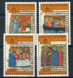 Vaticaan, michel 1222/25, xx