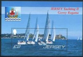 Jersey, michel blok 64 , xx