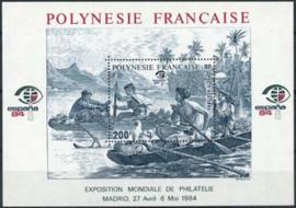 Polynesie, michel blok 9, xx
