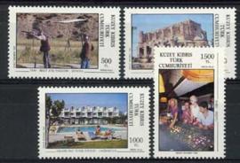Turks Cyprus, michel 328/31, xx