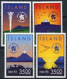 IJsland, michel 820/23, xx