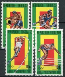 Togo , michel 1647/50, xx