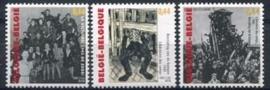 Belgie, obp 3392-94 , xx