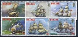 Belize , michel 625/30 , xx