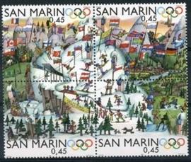 San Marino , michel 2249/52 , xx