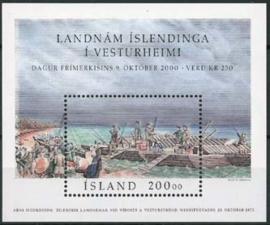 IJsland, michel blok 27, xx