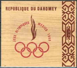 Dahomey, michel blok 15, xx