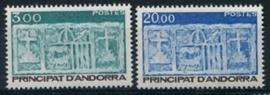 Andorra Fr., michel 356/57, xx