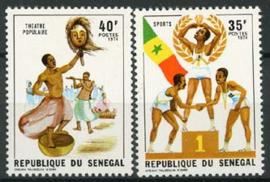 Senegal, michel 551/52, xx