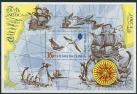 Tristan da Cunha, michel blok 2, xx