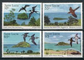 St.Lucia, michel 771/74, xx