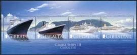 Gibraltar , michel blok 79 , xx