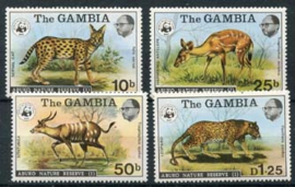 Gambia, michel 332/35, xx