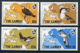 Gambia, michel 479/82, xx