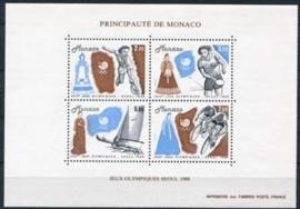 Monaco , michel blok 40 , xx