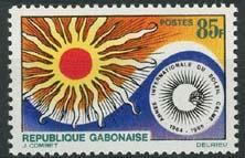 Gabon, michel 215, xx