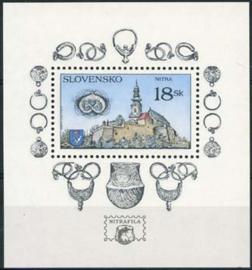 Slowakije, michel blok 10, xx
