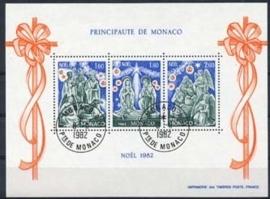 Monaco , michel blok 21 , o