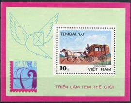 Vietnam, michel blok 19, xx