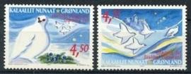 Groenland , michel 374/75 , xx