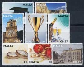 Malta, michel 1703/10, xx