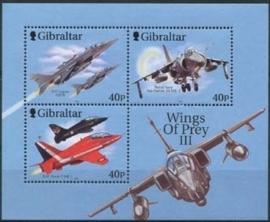 Gibraltar , michel blok 46 , xx