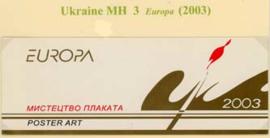 Ukraine, michel MH 3, xx