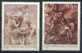 Liechtenstein, michel 1652/53, xx