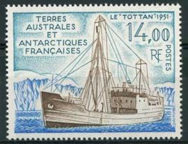 Antarctica Fr., michel 294, xx