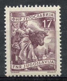 Joegoslavie, michel 760, xx