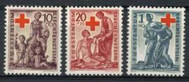 Liechtenstein, michel 244/46, xx