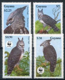 Guyana, michel 3077/80, xx