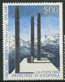 Andorra Fr., michel 460, xx