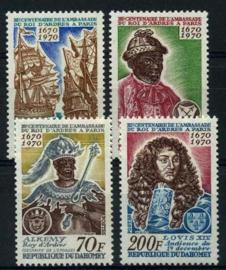 Dahomey, michel 422/25, xx