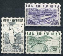 Papua N.Guinea, michel 158/60, xx