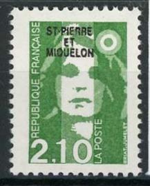 St.Pierre, michel 588, xx
