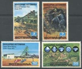 Botswana , michel 58/61 , xx