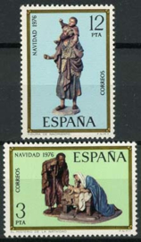Spanje, michel 2261/62, xx