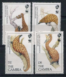 Gambia, michel 1550/53, xx
