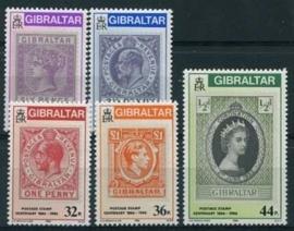 Gibraltar, michel 505/09, xx