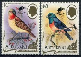 Aitutaki, michel 675/76, xx