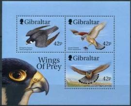 Gibraltar , michel blok 39 , xx