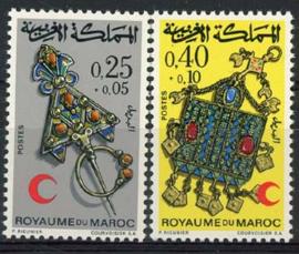 Marokko, michel 682/83, xx