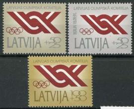 Letland, michel 323/25, xx